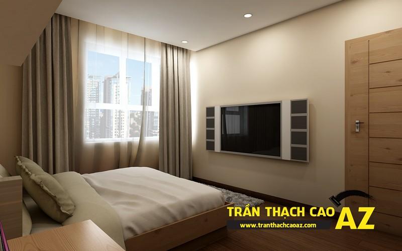 Phương án thiết kế trần thạch cao phòng ngủ con trai của gia đình anh Nam