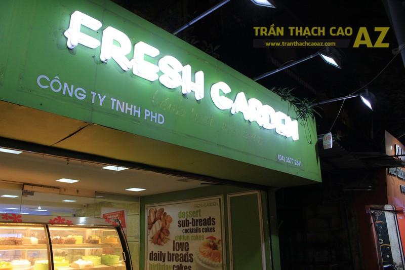 Thiết kế trần thạch cao đơn giản của Fresh Garden Phạm Ngọc Thạch - 08