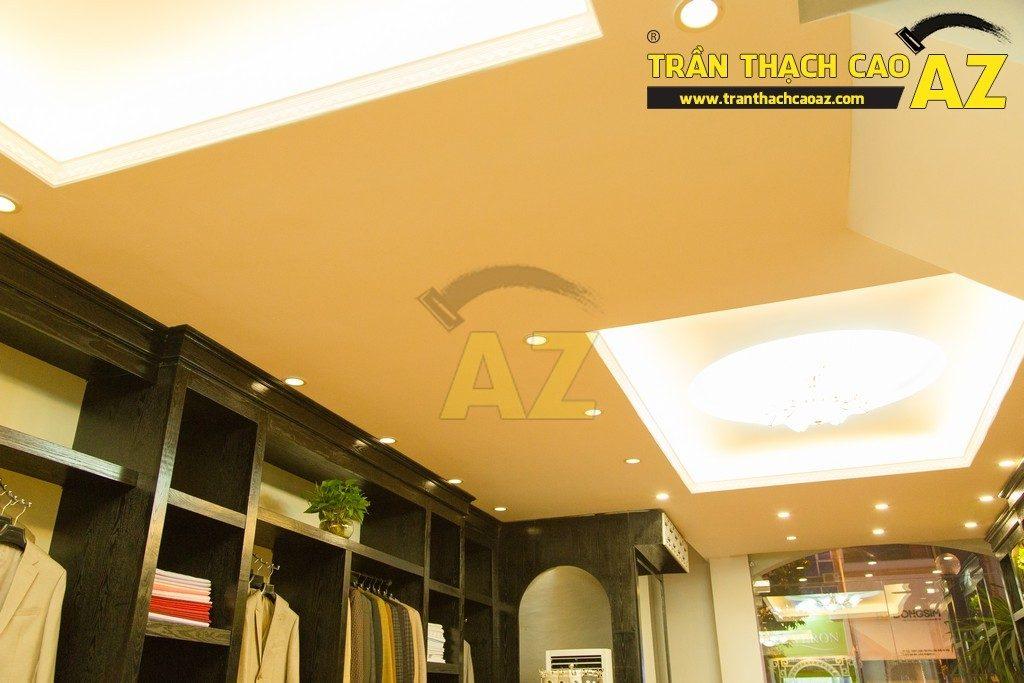 Thời trang Maria lịch lãm đầy lôi cuốn với mẫu trần thạch cao shop đẹp đẳng cấp - 02