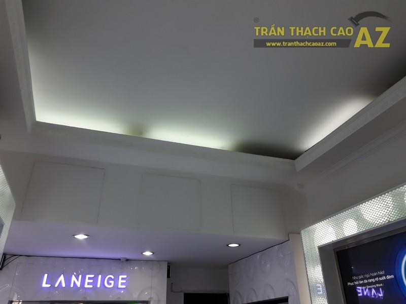 Trần thạch cao cho cửa hàng mỹ phẩm Laneige, Đống Đa, Hà Nội