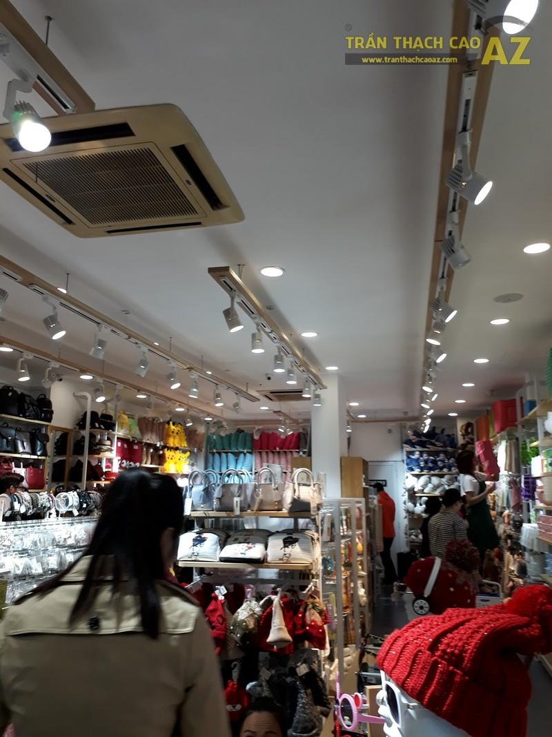 Trần thạch cao cho cửa hàng tiện ích Ilahui, 19 Chùa Bộc, Đống Đa, Hà Nội 02