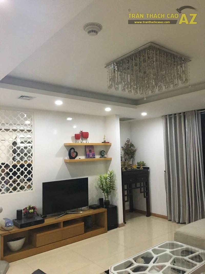 Trần thạch cao cho nhà chị Mai chung cư làng Việt Kiều Châu Âu