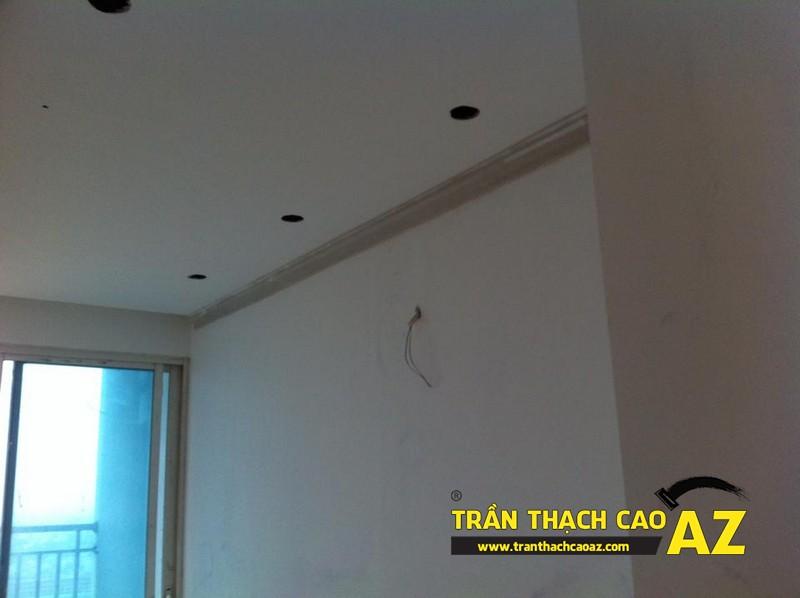 Tạo hình trần thạch cao phòng ngủ của con trai anh Lân - 01