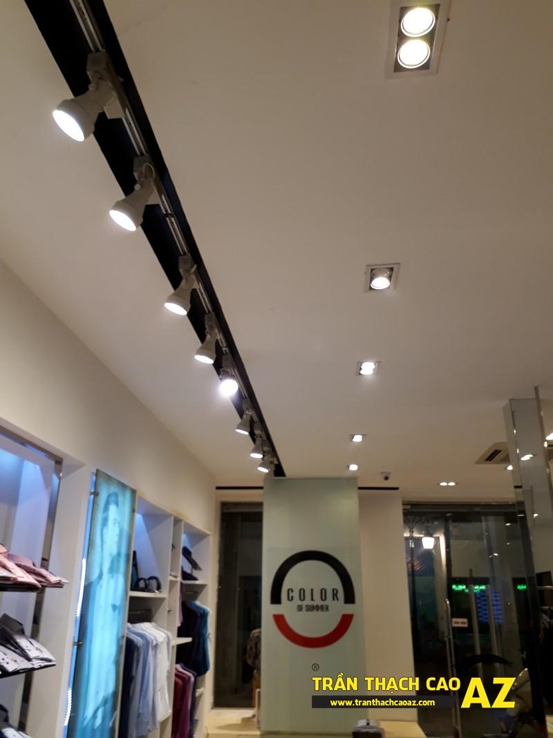 Tạo hình trần thạch cao đẹp đẳng cấp, lịch thiệp của shop Owen, số 46 Tràng Tiền - 01