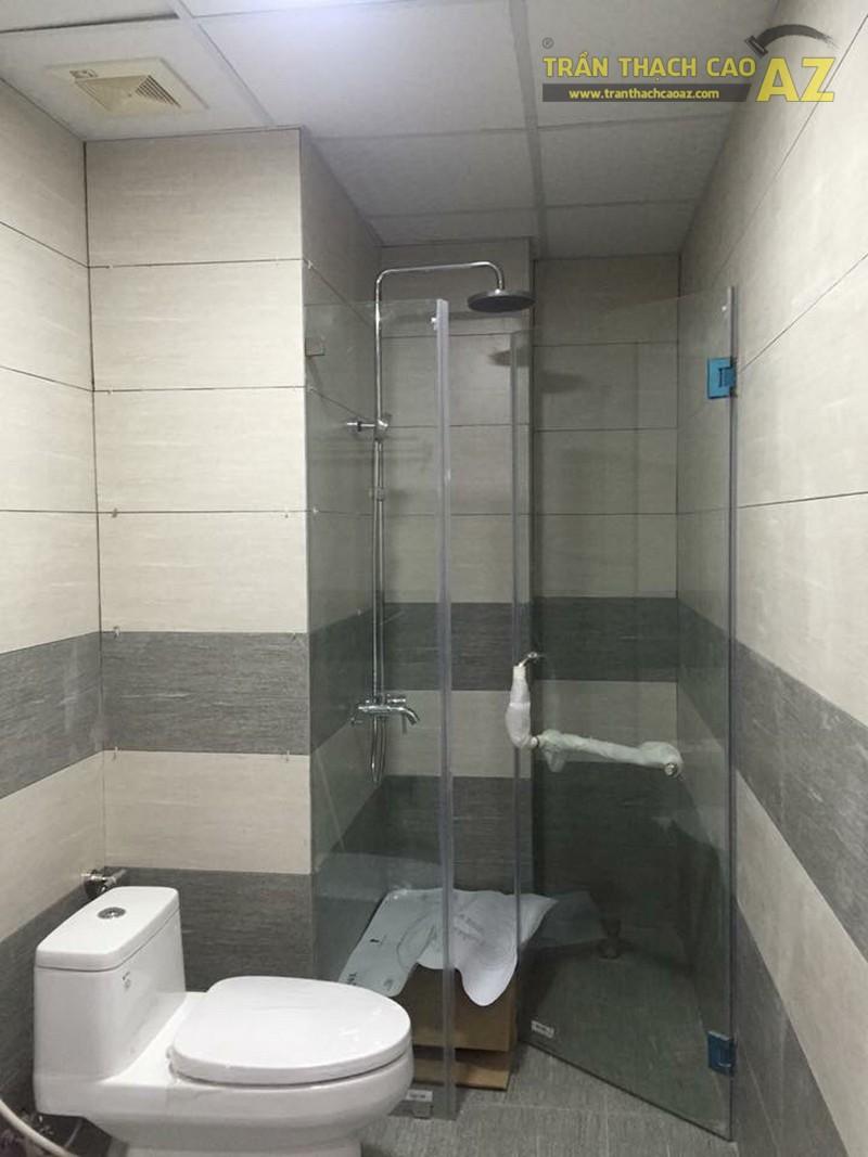 Thiết kế trần thạch cao nổi cho không gian phòng tắm