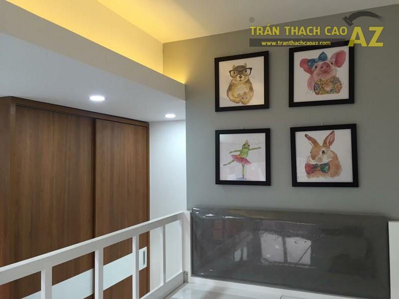 Thiết kế trần thạch cao phòng ngủ trẻ em đẹp của gia đình anh Chiến - 01