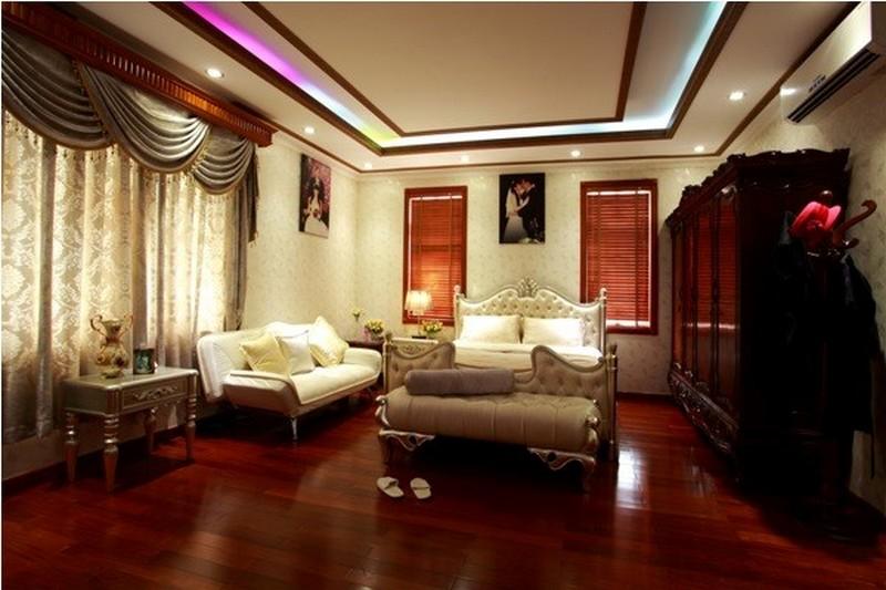 Thiết kế trần thạch cao của nhà Trang Nhung 01