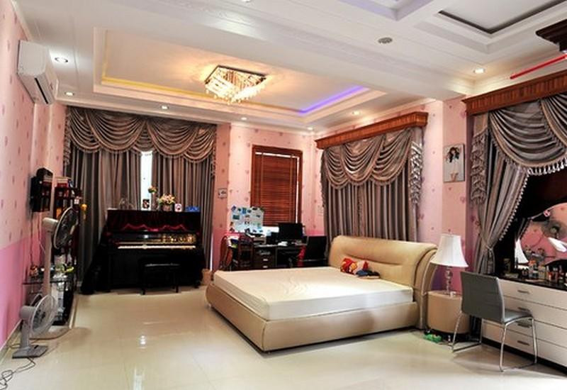 Thiết kế trần thạch cao của nhà Trang Nhung 02