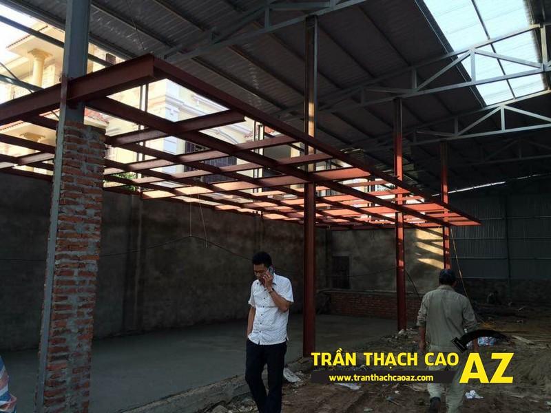 Trần thạch cao giúp nhà mái tôn biến hóa ngoạn mục