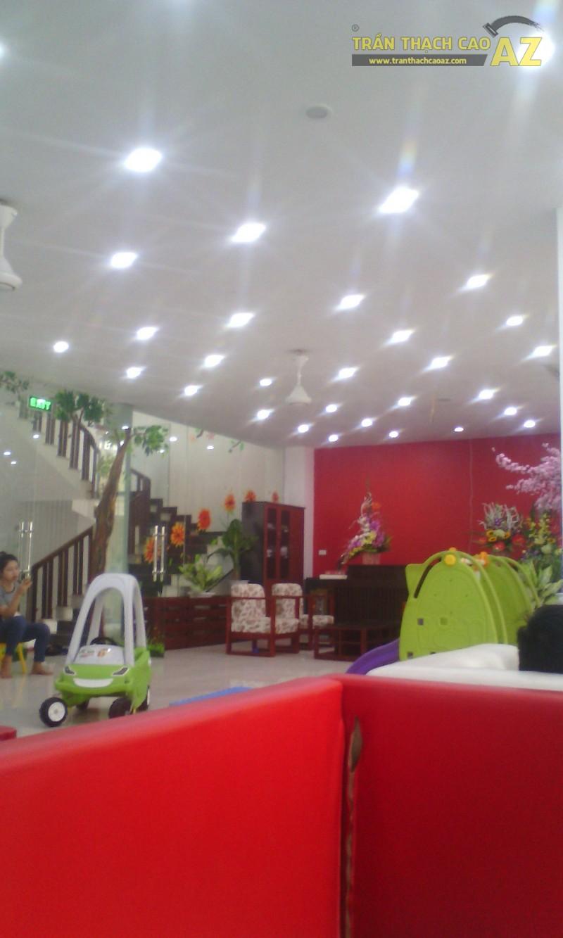Trần thạch cao khu vui chơi trẻ em siêu thị mẹ và bé Aikomart Phủ Lý