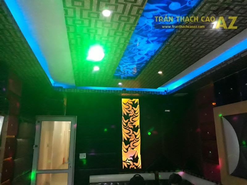 Trần thạch cao cho quán karaoke Hà My, Chùa Bộc, Hà Nội