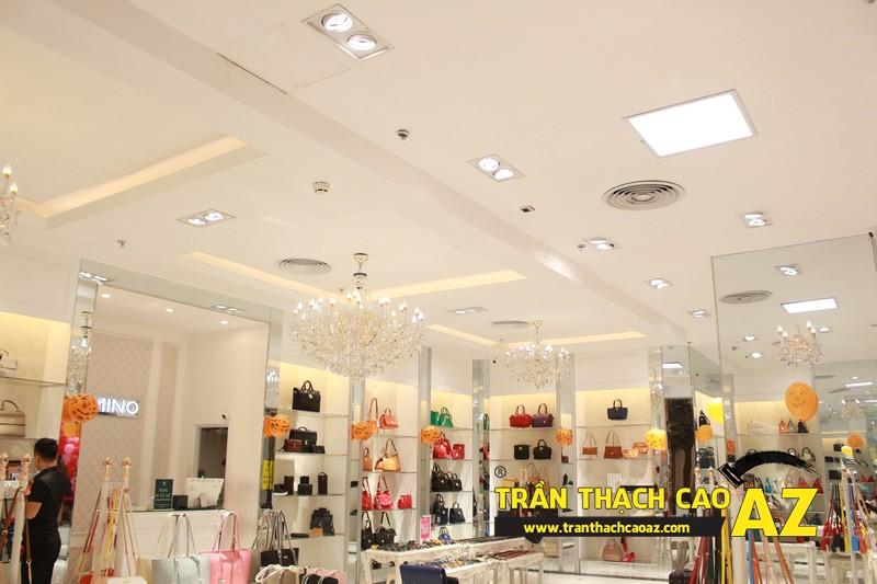 Trần thạch cao showroom Lemino trung tâm thương mại Royal City