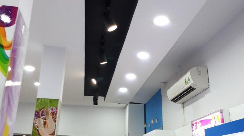 Tư vấn sử dụng trần thạch cao cho cửa hàng có diện tích nhỏ