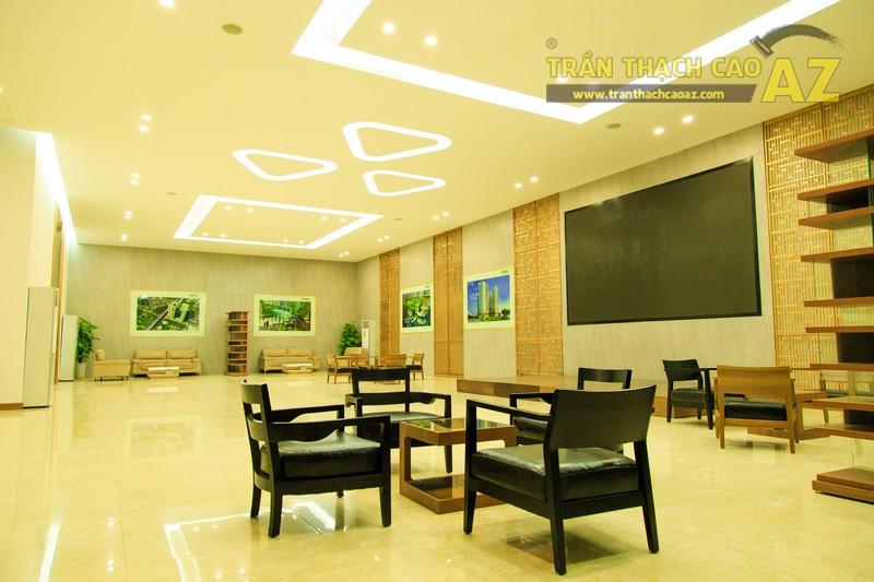 Vẻ đẹp đẳng cấp, hiện đại của thiết kế trần thạch cao sảnh ECO GREEN CITY - 01