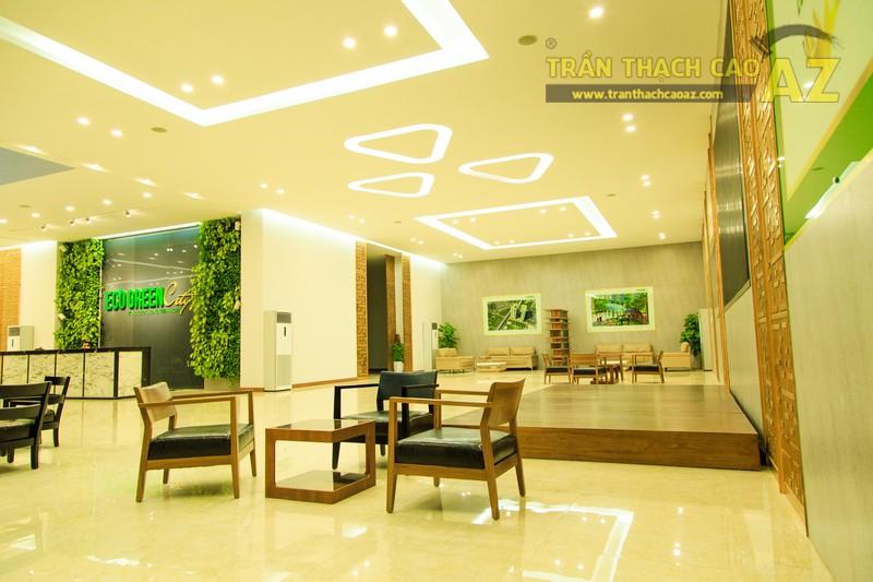 Vẻ đẹp đẳng cấp, hiện đại của thiết kế trần thạch cao sảnh ECO GREEN CITY - 02