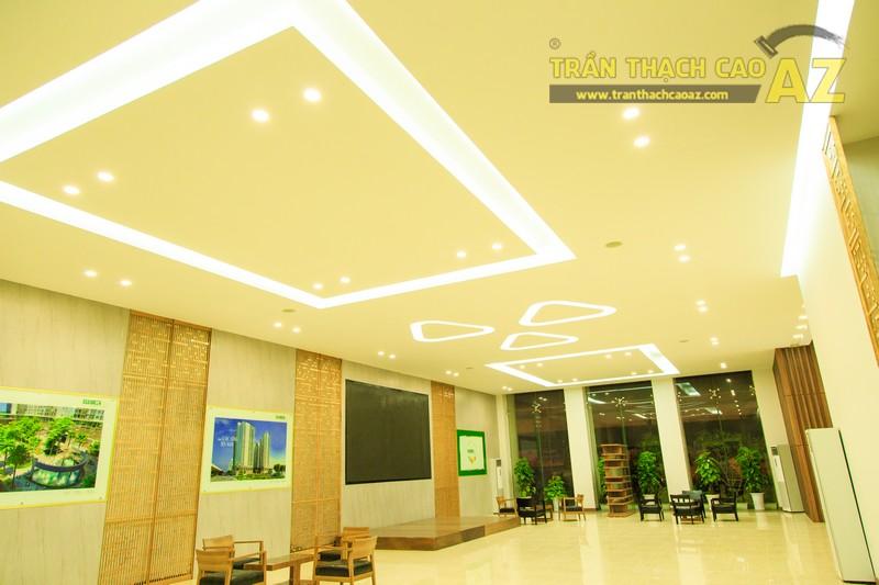Vẻ đẹp đẳng cấp, hiện đại của thiết kế trần thạch cao sảnh ECO GREEN CITY - 03