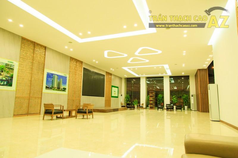 Vẻ đẹp đẳng cấp, hiện đại của thiết kế trần thạch cao sảnh ECO GREEN CITY - 04