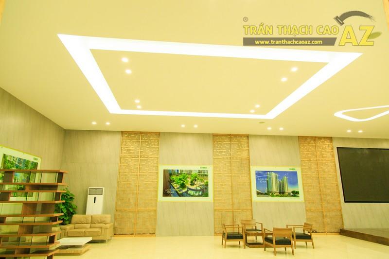 Vẻ đẹp đẳng cấp, hiện đại của thiết kế trần thạch cao sảnh ECO GREEN CITY - 05