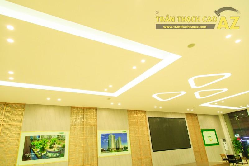 Vẻ đẹp đẳng cấp, hiện đại của thiết kế trần thạch cao sảnh ECO GREEN CITY - 06