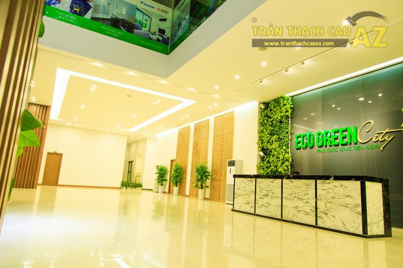 Vẻ đẹp đẳng cấp, hiện đại của thiết kế trần thạch cao sảnh ECO GREEN CITY - 11