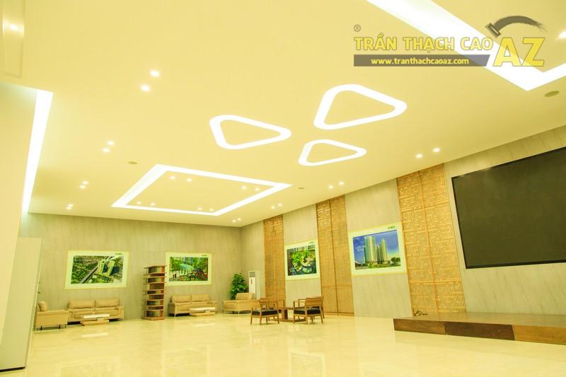 Vẻ đẹp đẳng cấp, hiện đại của thiết kế trần thạch cao sảnh ECO GREEN CITY - 07