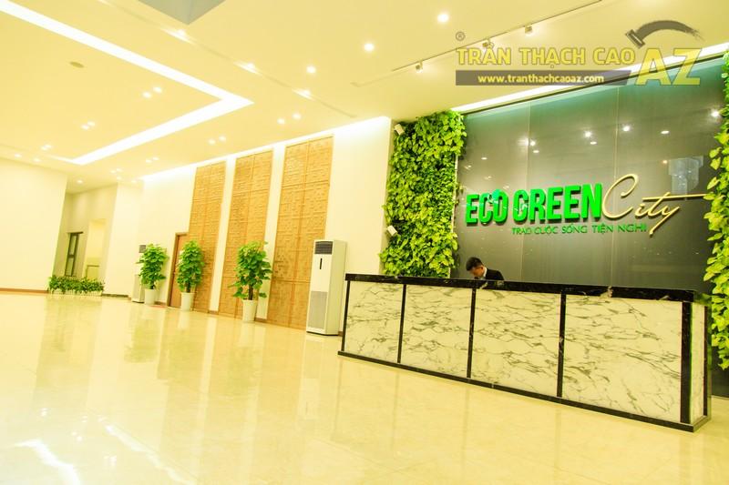Vẻ đẹp đẳng cấp, hiện đại của thiết kế trần thạch cao sảnh ECO GREEN CITY - 14