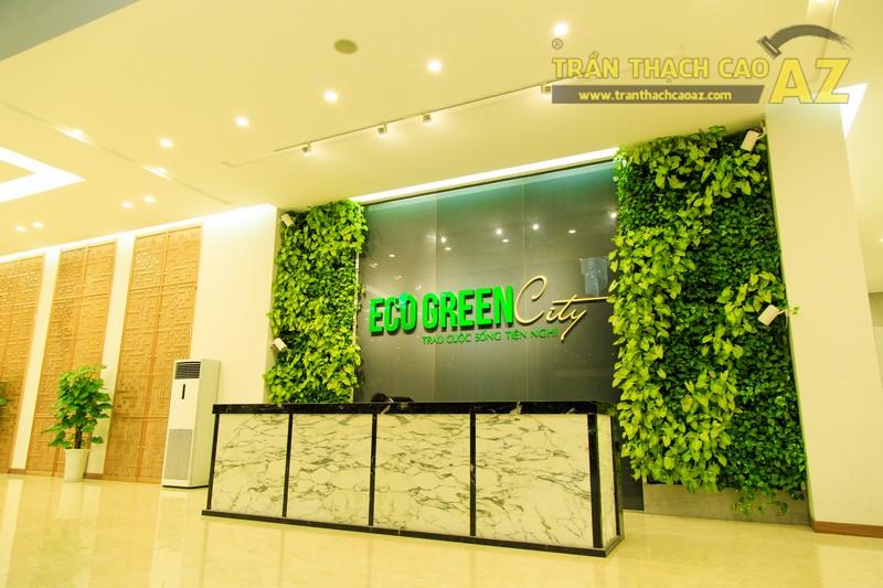 Vẻ đẹp đẳng cấp, hiện đại của thiết kế trần thạch cao sảnh ECO GREEN CITY - 13
