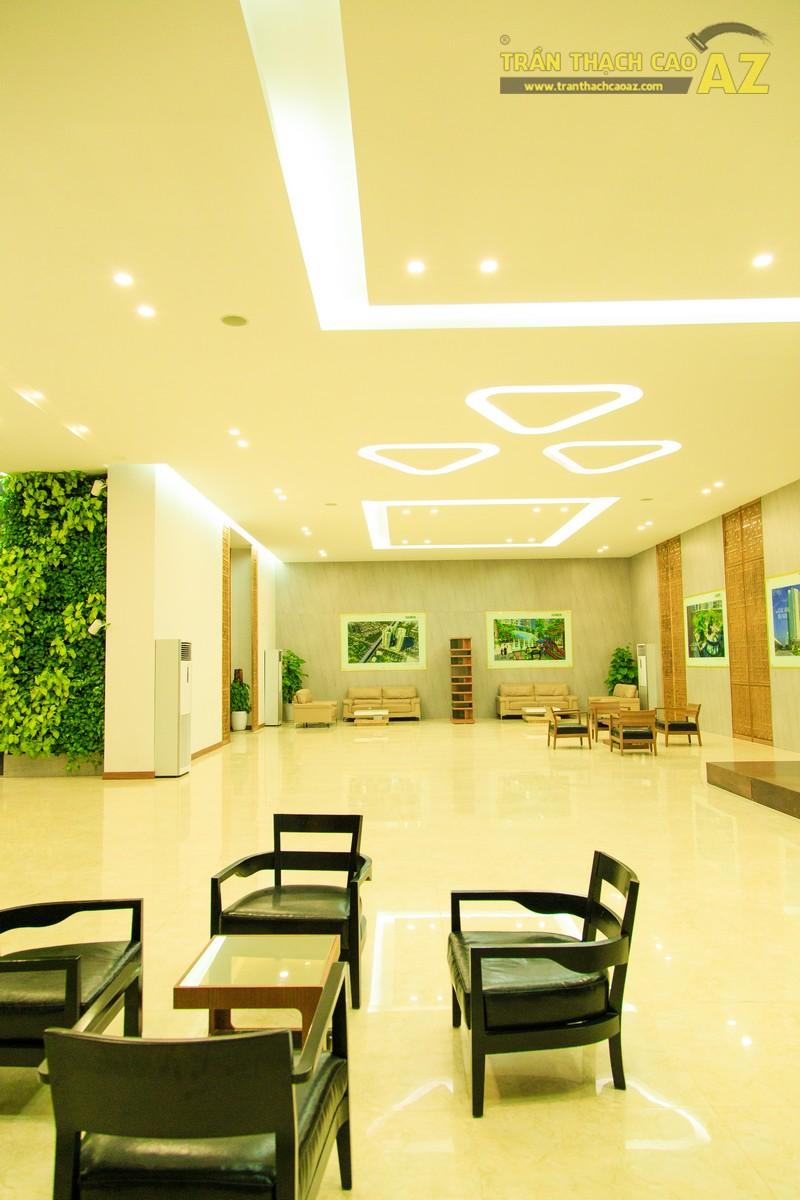 Vẻ đẹp đẳng cấp, hiện đại của thiết kế trần thạch cao sảnh ECO GREEN CITY - 10