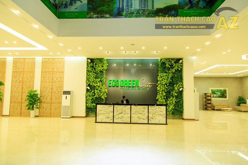 Vẻ đẹp đẳng cấp, hiện đại của thiết kế trần thạch cao sảnh ECO GREEN CITY - 12