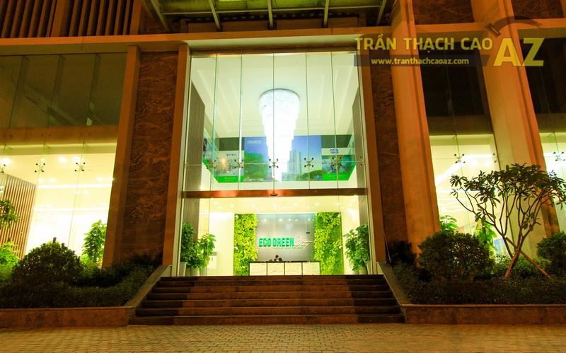 Vẻ đẹp đẳng cấp, hiện đại của thiết kế trần thạch cao sảnh ECO GREEN CITY - 15