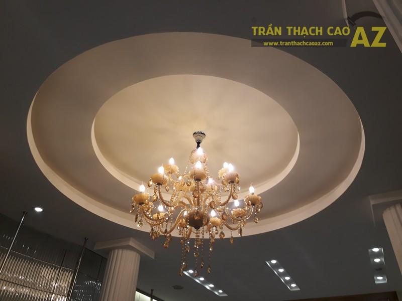 Vẻ đẹp quyến rũ cực đẳng cấp của thiết kế trần thạch cao shop S.PEARL, tại Tràng Tiền - 01