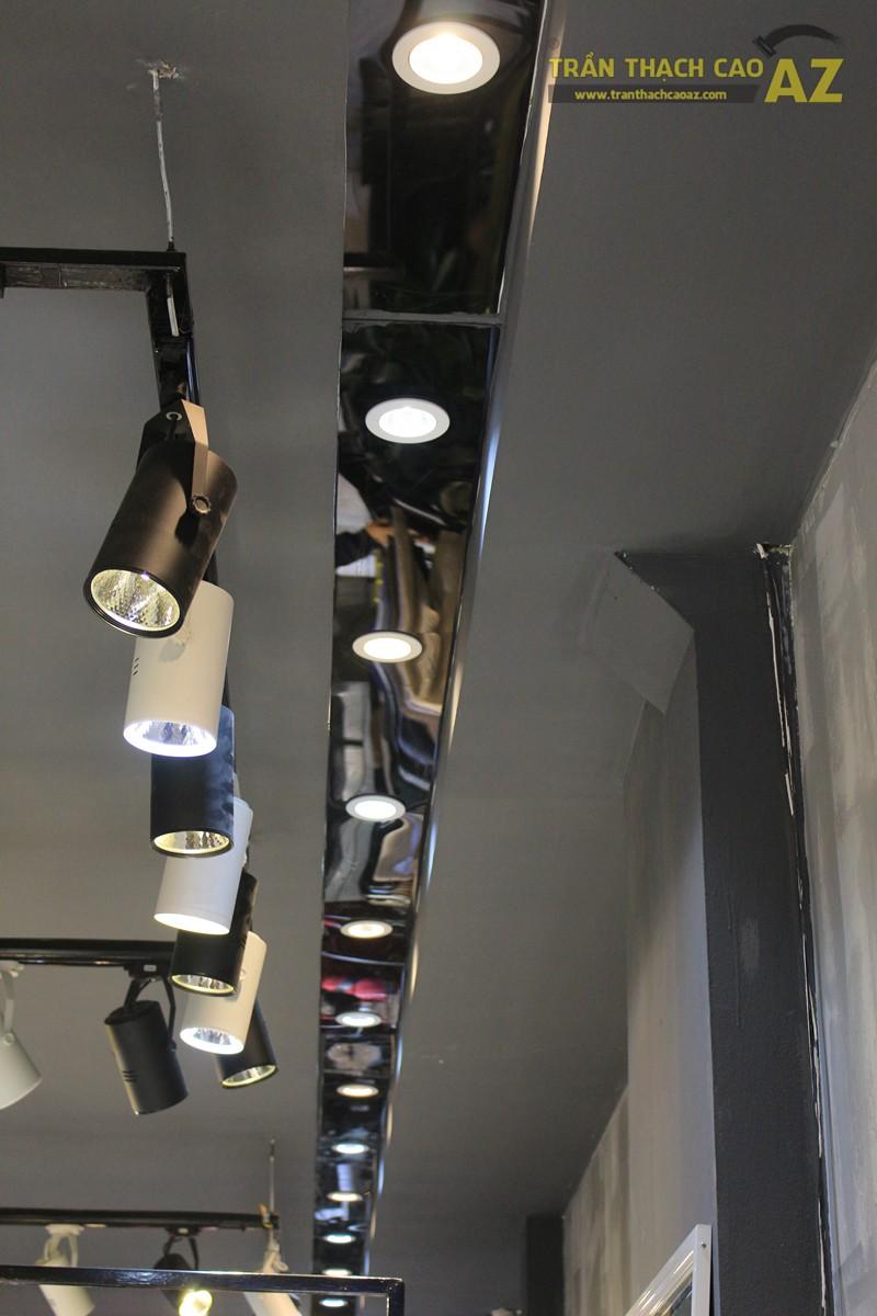 Bố trí đèn led trần thạch cao shop đẹp bắt mắt như 360 Boutique, 242 Thái Hà - 05