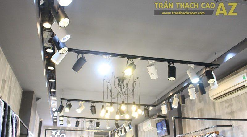 Bố trí đèn led trần thạch cao shop đẹp bắt mắt như 360 Boutique, 242 Thái Hà