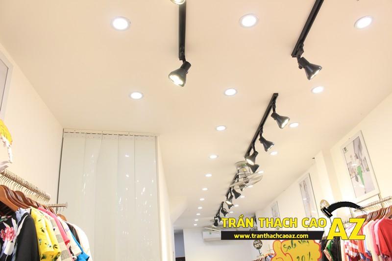 Cách chọn mẫu trần thạch cao đẹp nổi bật cho không gian shop nhỏ - 01