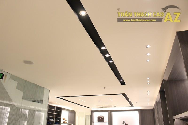 Chọn màu trần thạch cao đẹp sang trọng, hiện đại như shop FORMAT Thái Hà - 05