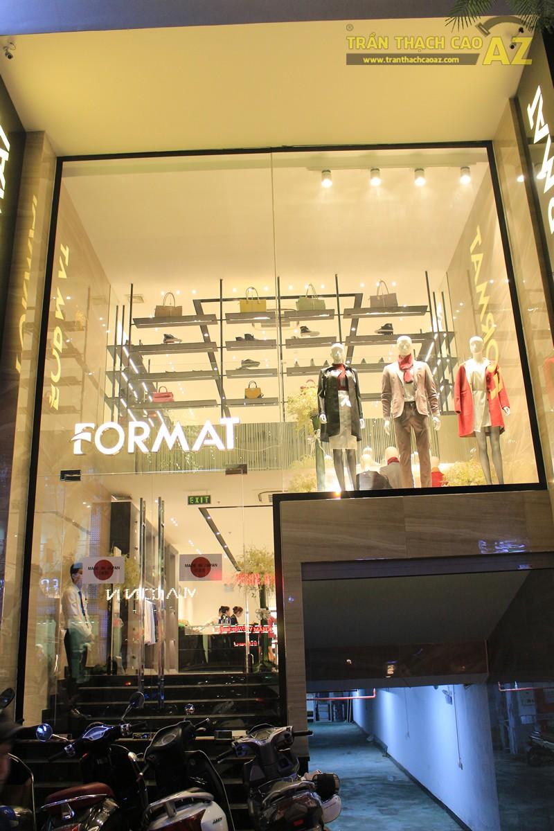 Chọn màu trần thạch cao đẹp sang trọng, hiện đại như shop FORMAT Thái Hà - 08