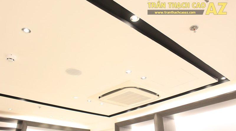 Chọn màu trần thạch cao đẹp sang trọng, hiện đại như shop FORMAT Thái Hà