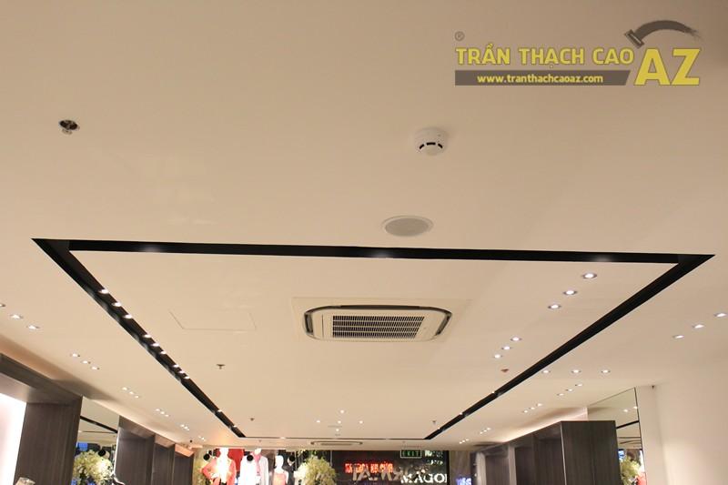 Chọn màu trần thạch cao đẹp sang trọng, hiện đại như shop FORMAT Thái Hà - 01