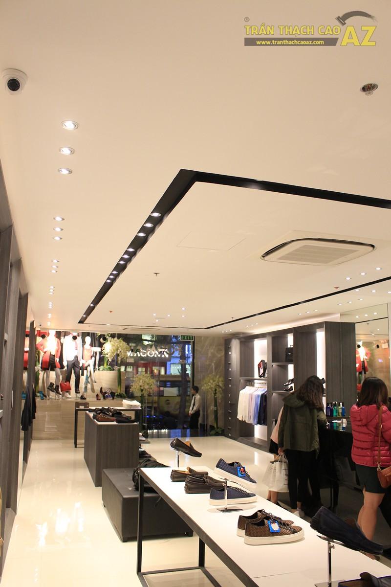 Chọn màu trần thạch cao đẹp sang trọng, hiện đại như shop FORMAT Thái Hà - 02