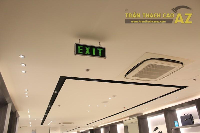 Chọn màu trần thạch cao đẹp sang trọng, hiện đại như shop FORMAT Thái Hà - 03