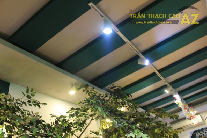 Mẫu trần thạch cao quán cafe đẹp nổi bật, ấn tượng của Gemini coffee Nam Đồng - 02
