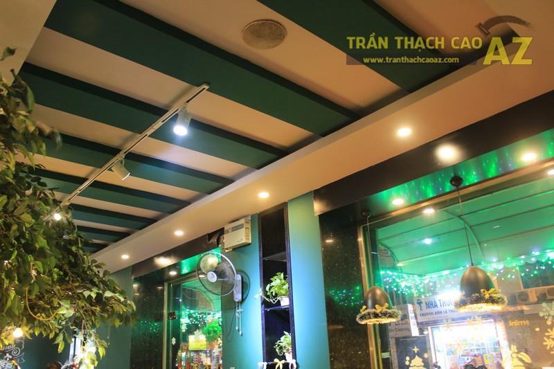 Mẫu trần thạch cao quán cafe đẹp nổi bật, ấn tượng của Gemini coffee Nam Đồng - 01