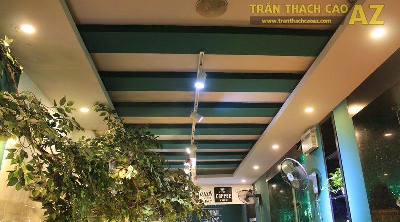 Chọn mẫu trần thạch cao quán cafe đẹp nổi bật, ấn tượng như Gemini coffee Nam Đồng