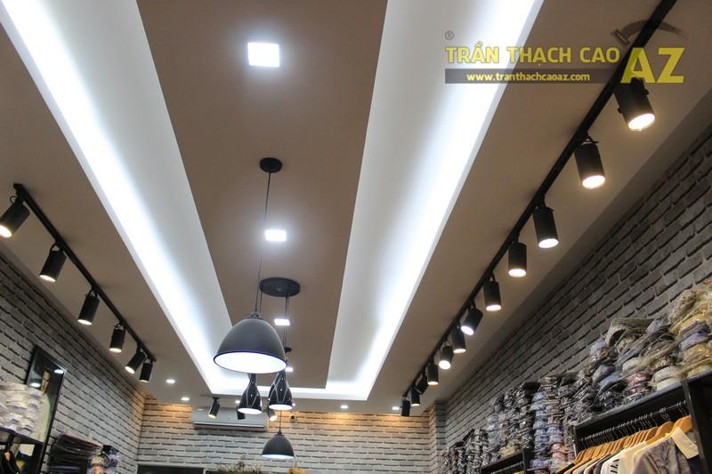 Chọn mẫu trần thạch cao shop nhỏ đẹp hiện đại như shop TINO, số 189 Xã Đàn - 01