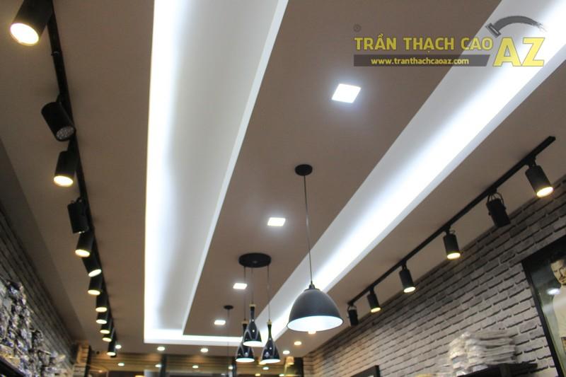 Chọn mẫu trần thạch cao shop nhỏ đẹp hiện đại như shop TINO, số 189 Xã Đàn - 02