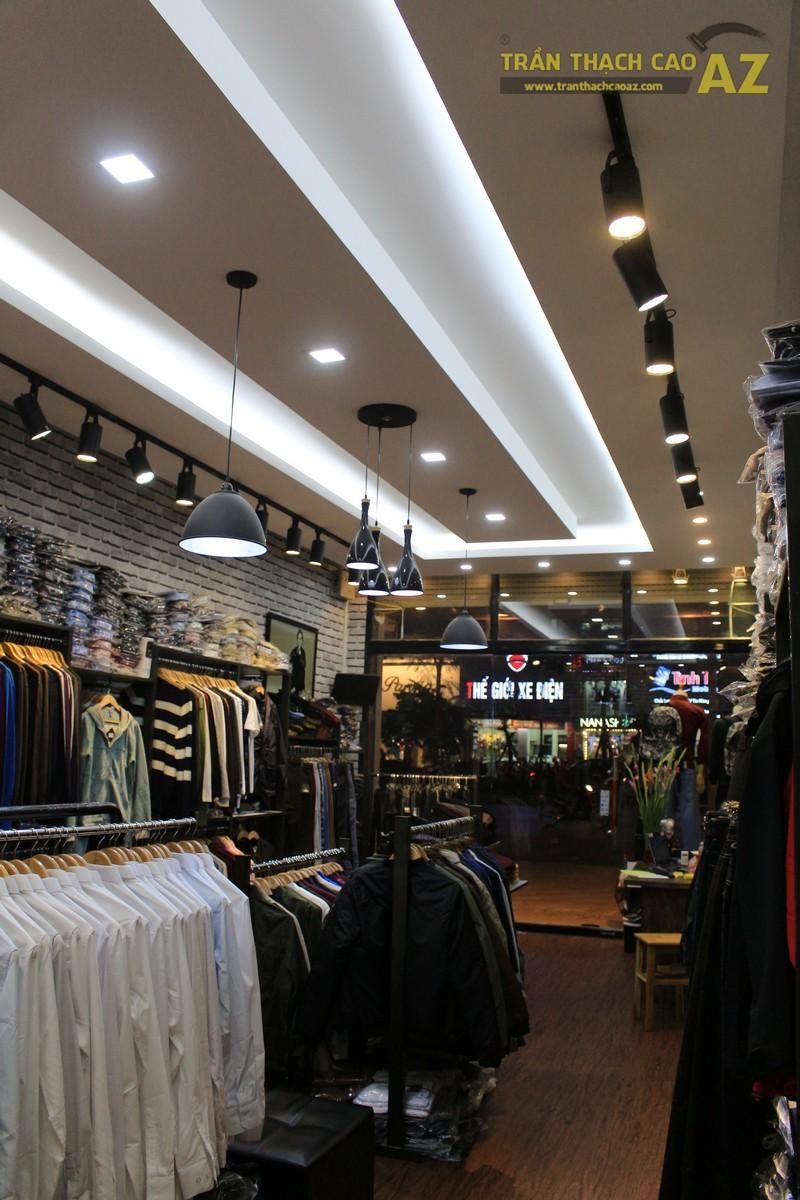 Chọn mẫu trần thạch cao shop nhỏ đẹp hiện đại như shop TINO, số 189 Xã Đàn - 03