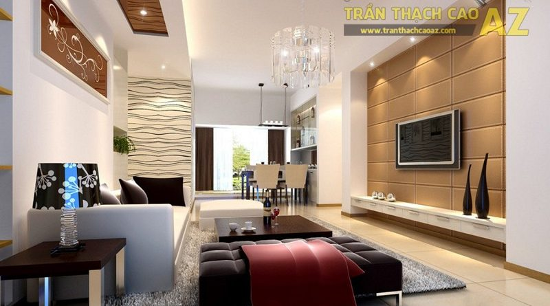 Có phải bạn đang tìm các mẫu trần thạch cao phòng khách nhỏ đẹp nhất?