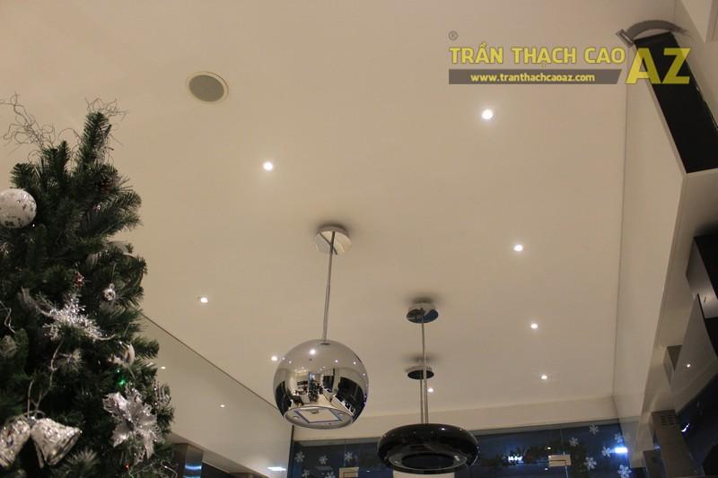 Trần thạch cao cho cửa hàng thiết bị nhà bếp Malloca 156 Thái Hà