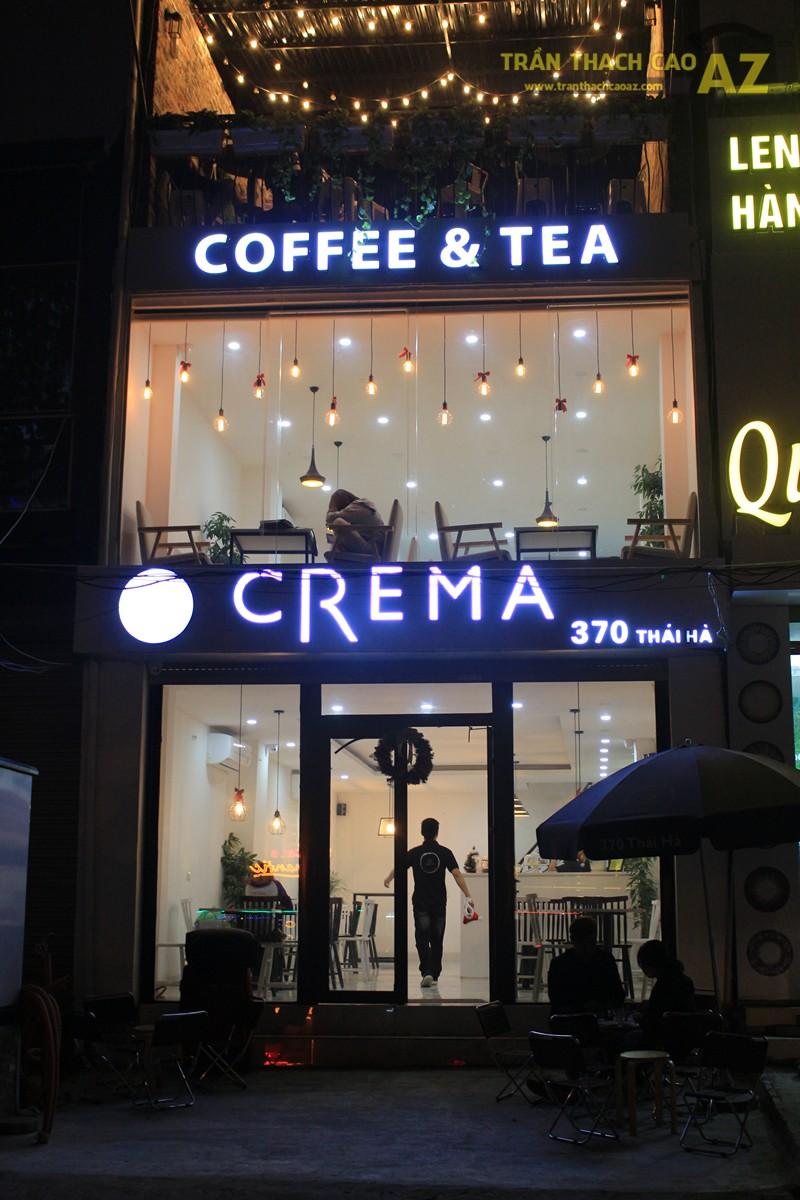 Đơn giản, nhẹ nhàng như mẫu trần thạch cao quán cafe đẹp hiện đại của CREMA, 370 Thái Hà - 06