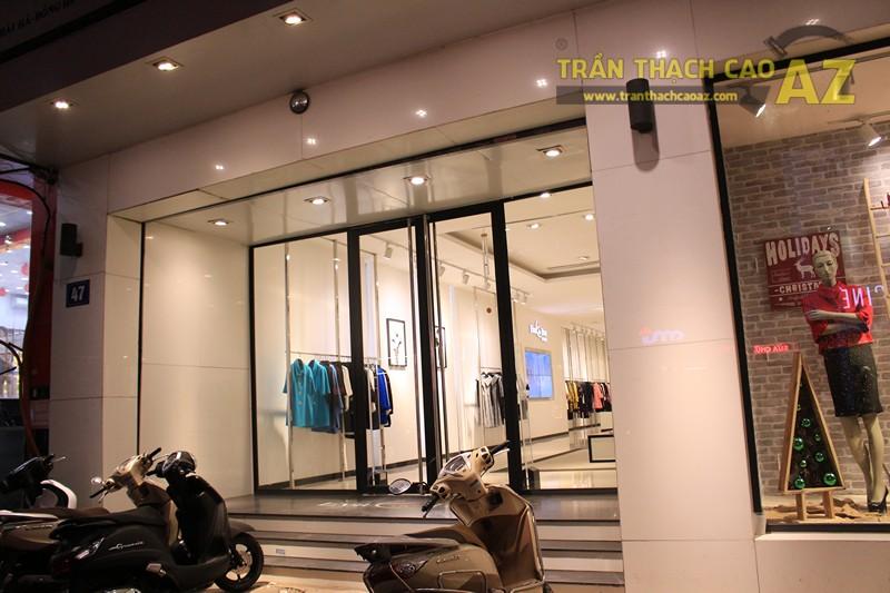 Eva De Eva Thái Hà bừng sáng với mẫu trần thạch cao shop đơn giản, hiện đại, nhẹ nhàng - 07